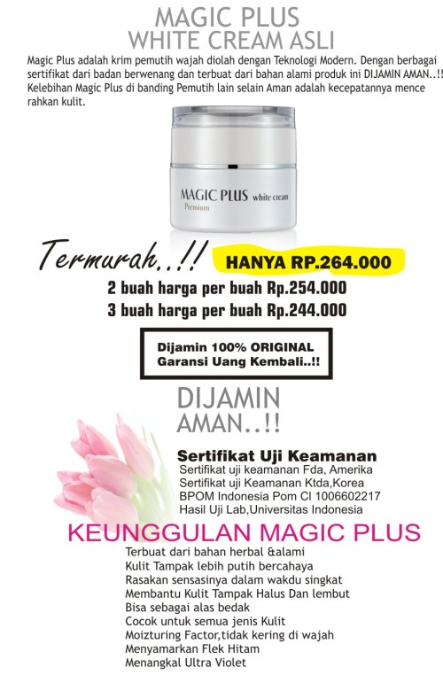 magic plus asli